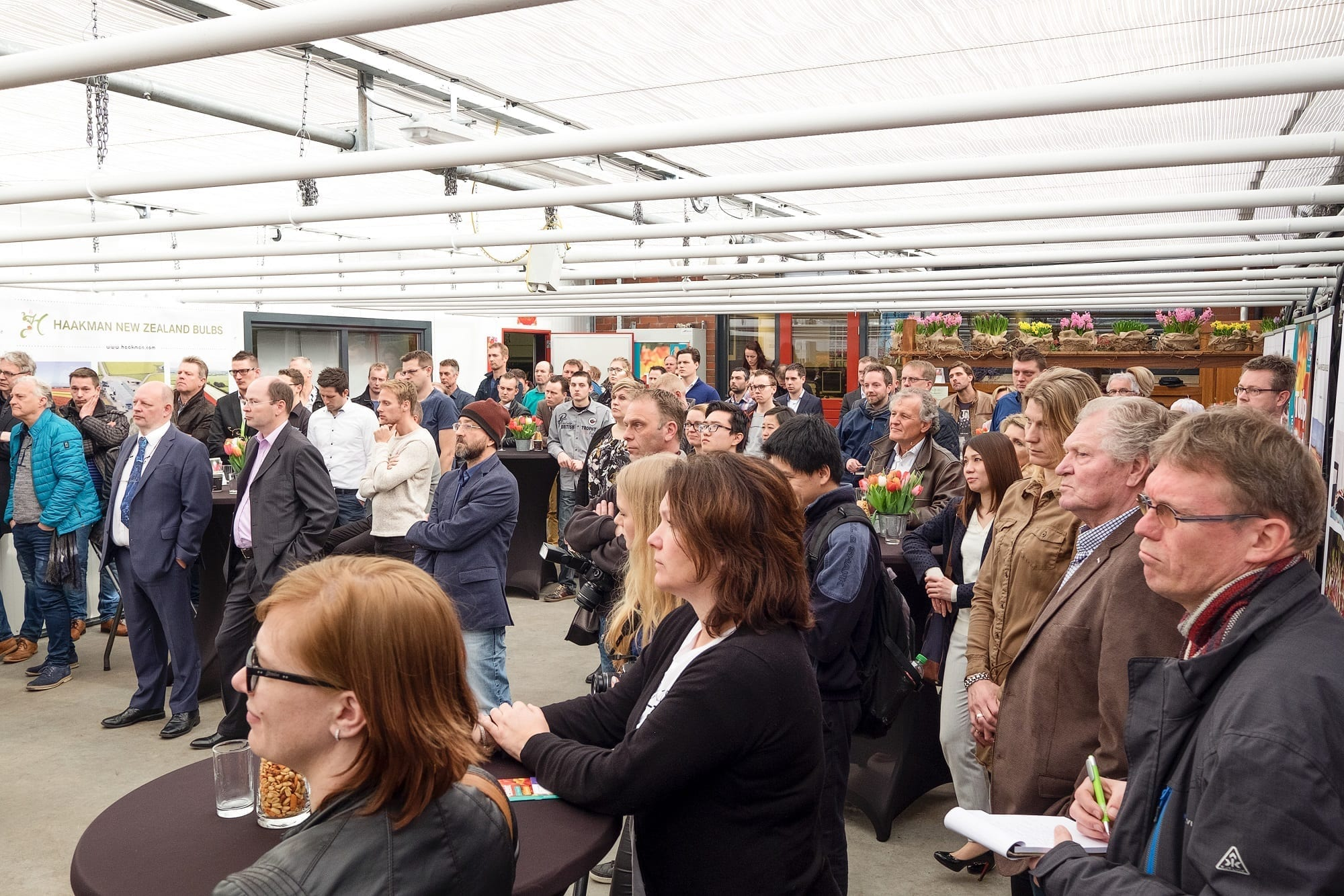 20170315 - Photo - Opening Tulip Trade Event in the presence of many guests, business relations and members of the press