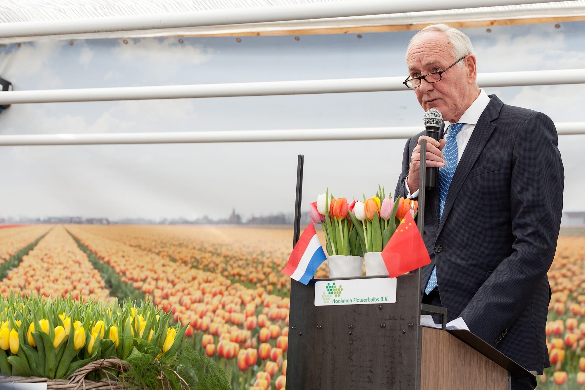 20170315 - Photo - Royal Commissioner speeches during Tulip Trade Event